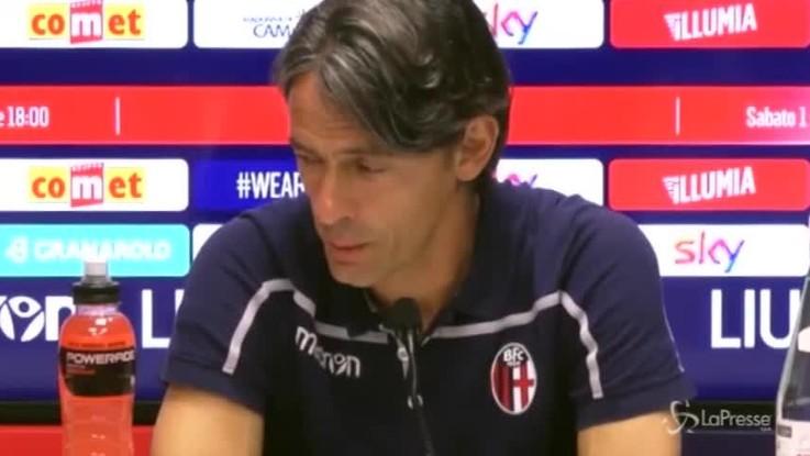 """Bologna, Pippo Inzaghi: """"Contro l'Inter abbiamo poco da perdere"""""""