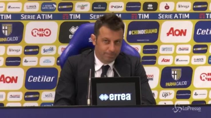 """D'Aversa: """"Abbiamo dimostrato di poterci stare in questo campionato"""""""