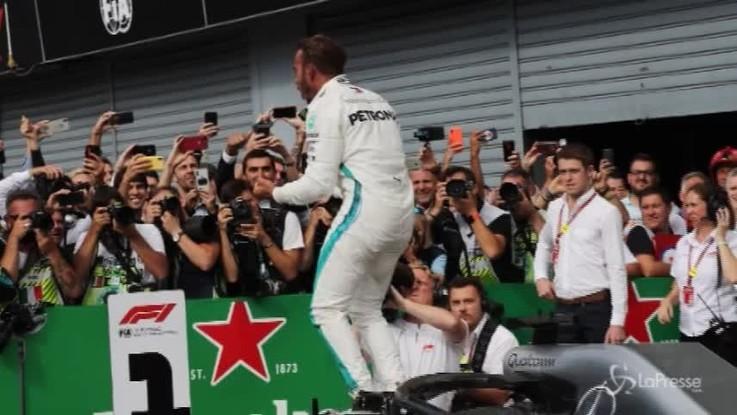 Formula 1, a Monza vince Hamilton davanti a Raikkonen
