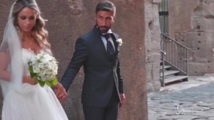 Crollo chiesa a Roma, Roberto e Sara si sono sposati
