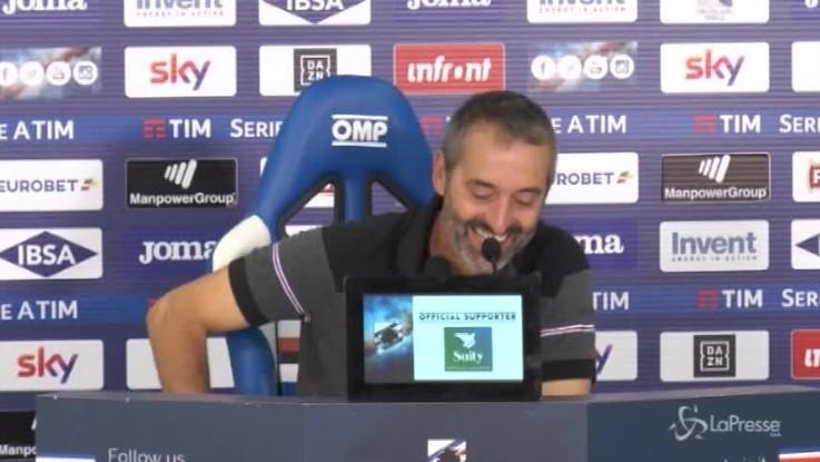 """Giampaolo: """"La squadra brava a non subire il Napoli"""""""