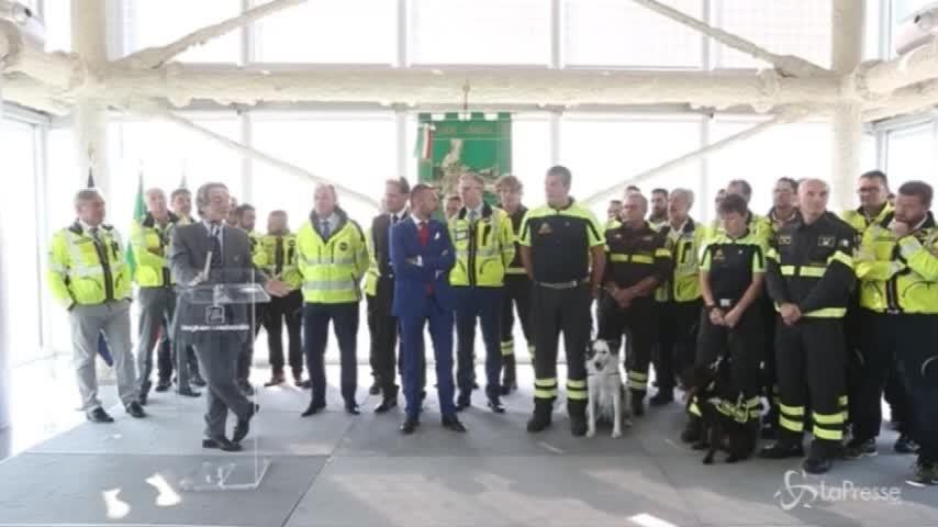 Crollo ponte, Fontana ringrazia il personale lombardo intervenuto a Genova