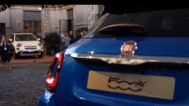 La nuova Fiat 500X presentata alle flotte