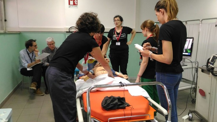 A Latina i Pediatric Simulation Games. Così i pediatri imparano a salvare vite