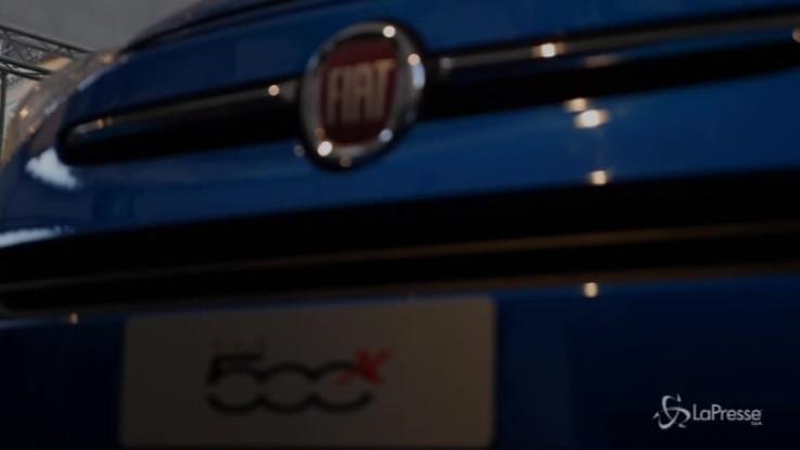 Luca Napolitano presenta la nuova 500X