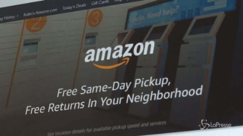 Amazon, raggiunti mille miliardi di capitalizzazione