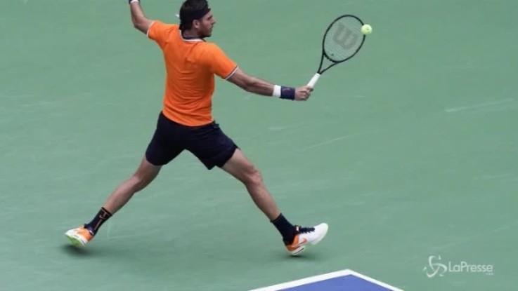 Us Open, in semifinale Del Potro e Nadal