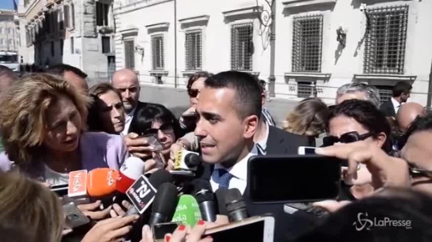 """Ilva, Di Maio: """"Se la proposta migliora la gara non si può annullare"""""""