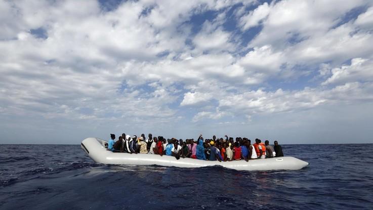 migranti morti morti libia italia