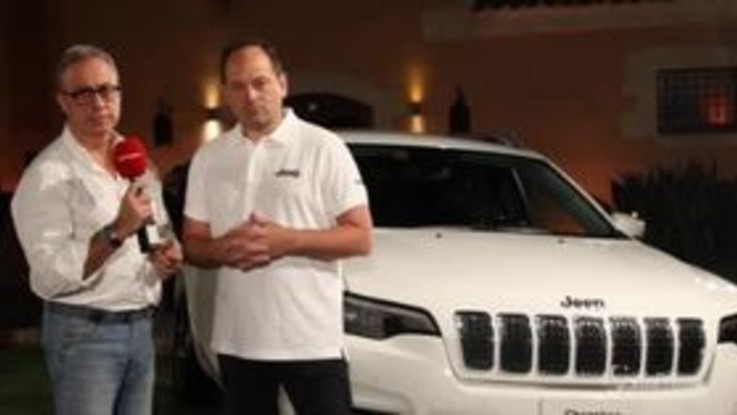 Jeep nuova Cherokee Jeff Hines Head of Jeep Brand Emea
