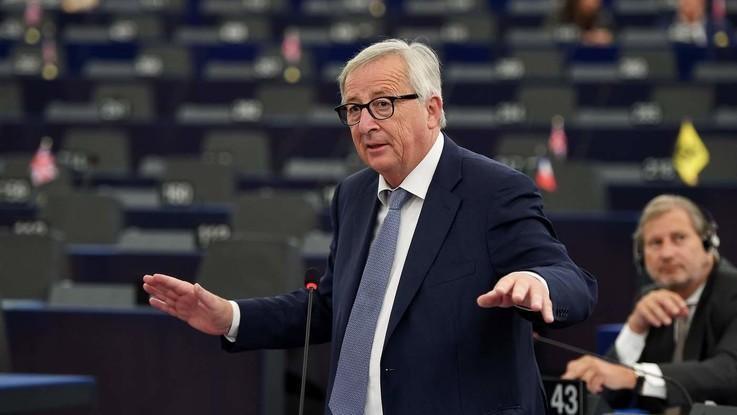 """L'ultimo discorso di Juncker alla Commissione Ue: """"No a nazionalismi. Europa sia unita"""""""