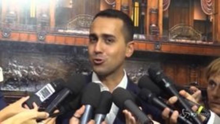 """Di Maio: """"Reddito di cittadinanza in manovra o problemi per il governo"""""""