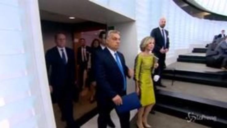 Ue, attesa per il voto su sanzioni a Ungheria