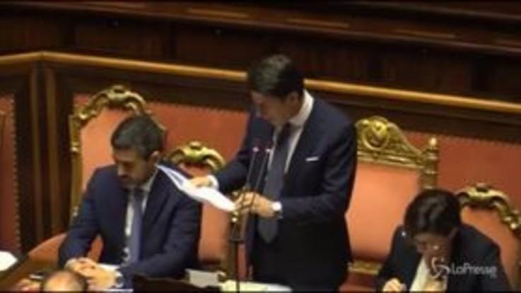 """Migranti, Conte: """"Stop ad accoglienza indiscriminata"""""""