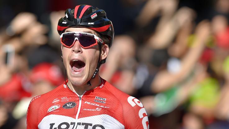 Vuelta: 18a tappa al belga Wallays, Yates sempre maglia rossa
