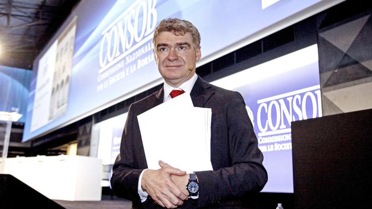 Consob, si dimette il presidente Nava