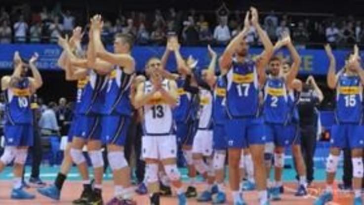 Mondiali di Volley, bis dell'Italia: Belgio battuto 3-0