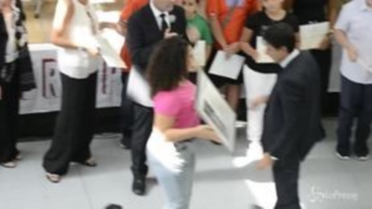 Palermo, Conte nella scuola dedicata a don Pino Puglisi