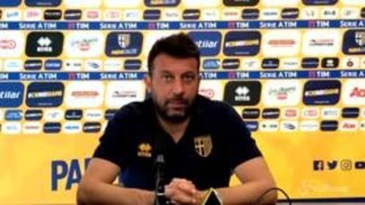 """Parma, D'Aversa: """"Contro l'Inter limitare gli errori e portare punti a casa"""""""