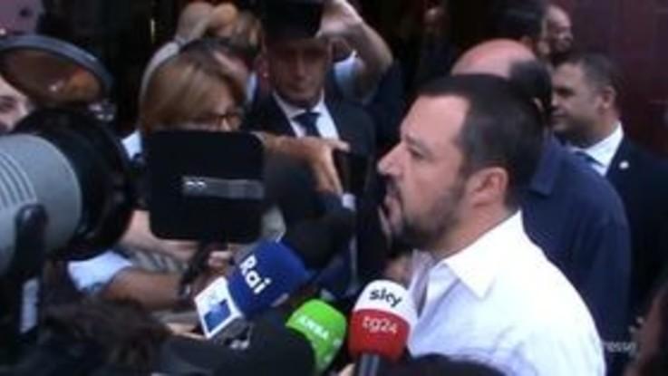 """Lega primo partito, Salvini: """"Più mi indagano e più mi danno forza"""""""