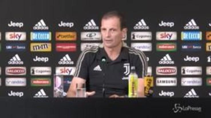"""Allegri: """"Diamo tempo e fiducia a Mancini"""""""