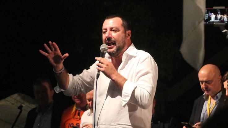 """Salvini vola nei sondaggi: """"Non sono forte come dipingono, serve sana cattiveria"""""""