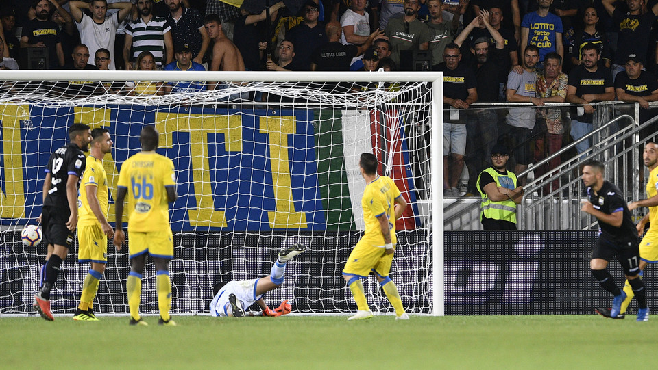 Il gol 0-2 di Gianluca Caprari ©