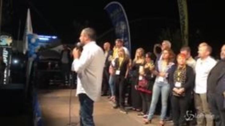 """Scioglimento Pd, Salvini : """"D'accordo con Orfini"""""""