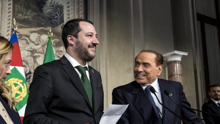 Capitano e Cavaliere insieme ad Arcore: da centrodestra a Rai. Salvini vuole Foa