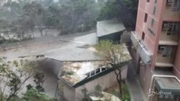 Tifone Mangkhut devasta le Filippine, 25 morti