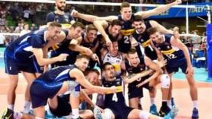Volley, l'Italia cala il tris contro l'Argentina