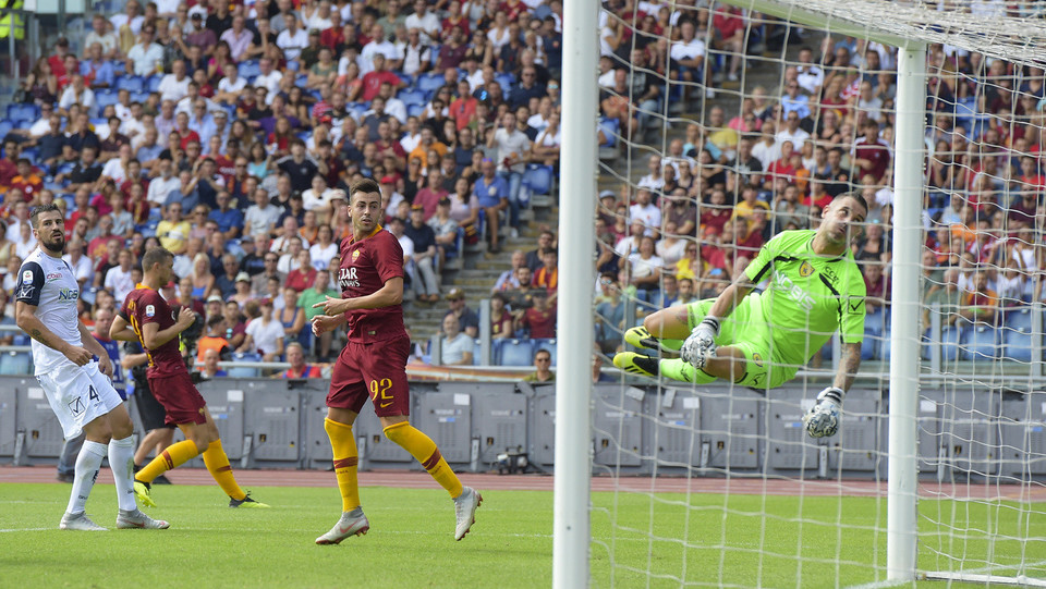 10' Gol della Roma! El Shaarawy segna su assist di Florenzi ©