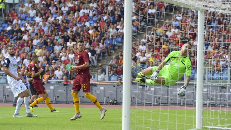 Serie A, Roma-Chievo 2-2 | Il fotoracconto