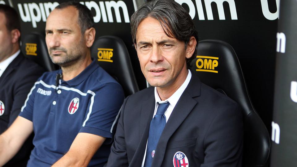 L'allenatore del Bologna, Pippo Inzaghi ©