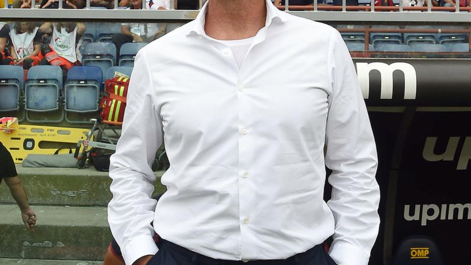 Il tecnico del Genova, Davide Ballardini ©