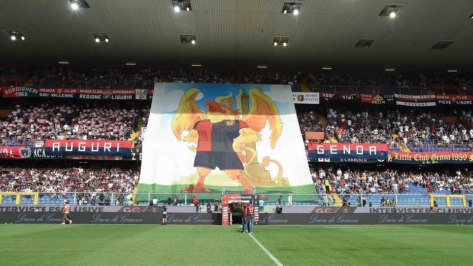 I tifosi del Genoa ©