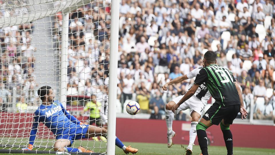 L'azione del gol di Ronaldo ©