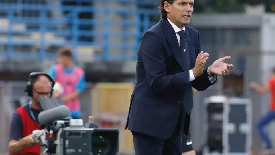 L'allenatore della Lazio, Simone Inzaghi ©