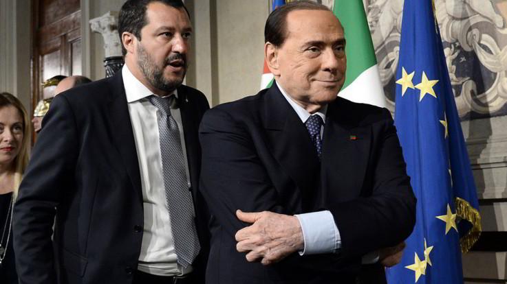 """Salvini da Berlusconi: """"Parliamo di futuro"""". Sul tavolo Rai e tasse"""