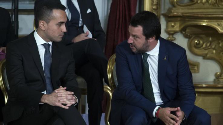 """Manovra, stoccate a distanza Di Maio-Salvini. Ma assicurano: """"Nessuna tensione"""""""
