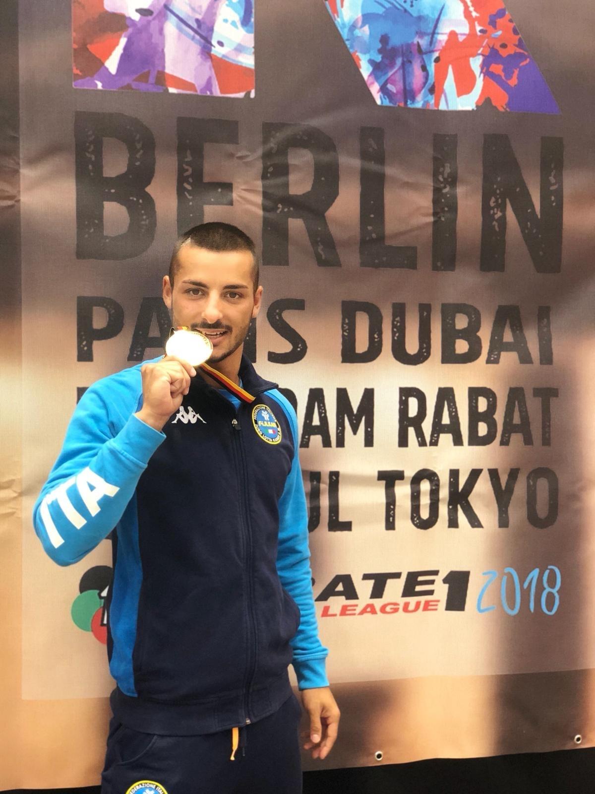 Karate, Premier League: 8 medaglie per l'Italia a Berlino