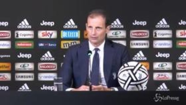 """Juve, Allegri: """"Sorpreso dalla reazione di Douglas Costa, un danno per la squadra"""""""