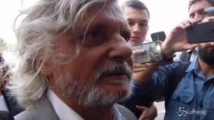 """Roma, Ferrero contro i tifosi: """"Dovevano venire al funerale di Maria Sensi, sono molto deluso"""""""