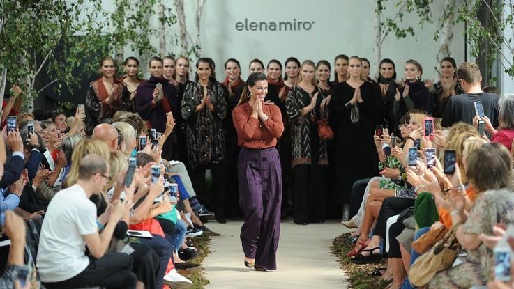 Elena Mirò, la moda 'Slow living' by Vanessa Incontrada sfila nel bosco