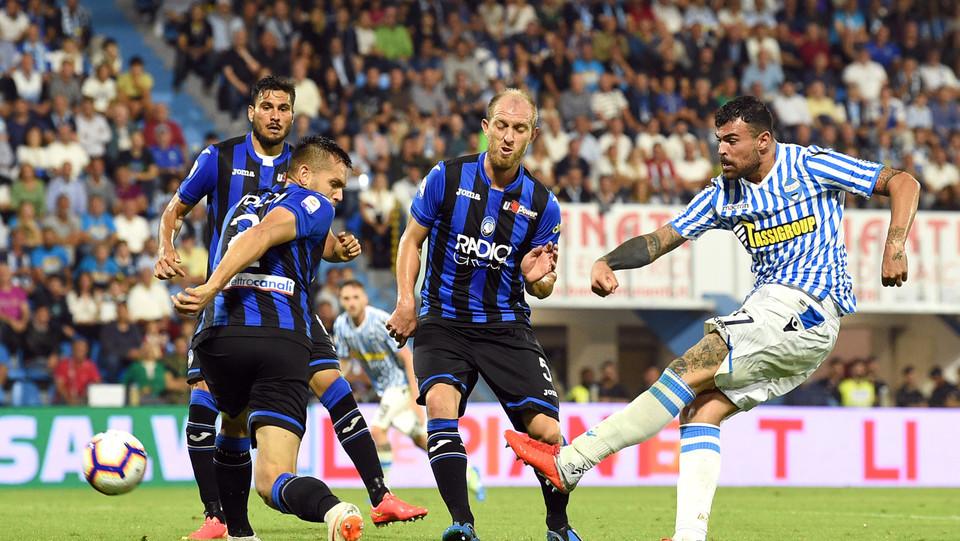Petagna (Spal) realizza il gol 2-0 ©