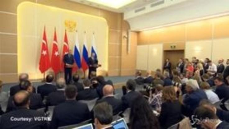 Idlib, c'è l'accordo tra Russia e Turchia