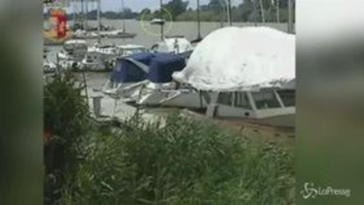 A Marina di Pisa la droga arriva in motoscafo