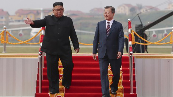 Coree, il terzo summit tra Moon e Kim: passi decisivi verso il disarmo