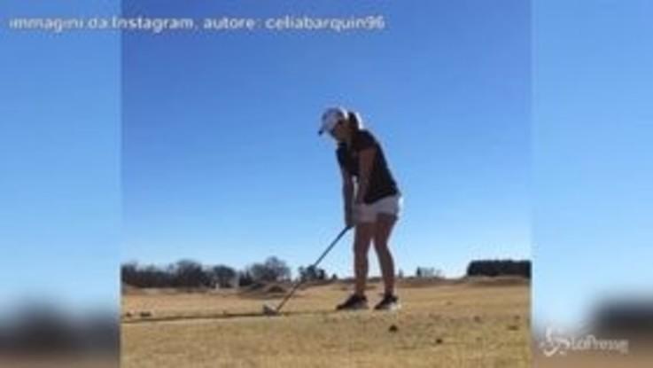 Trovata morta in campo la golfista Celia Barquín: aveva 22 anni