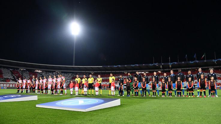 Champions League, Stella Rossa-Napoli 0-0 | Il fotoracconto